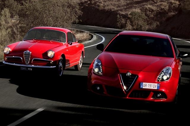 Alfa Romeo Giulietta Sprint w