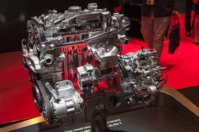 Motore Alfa 4C