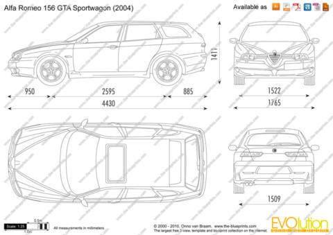 Alfa Romeo 156 GTA Sportwagon (2004)