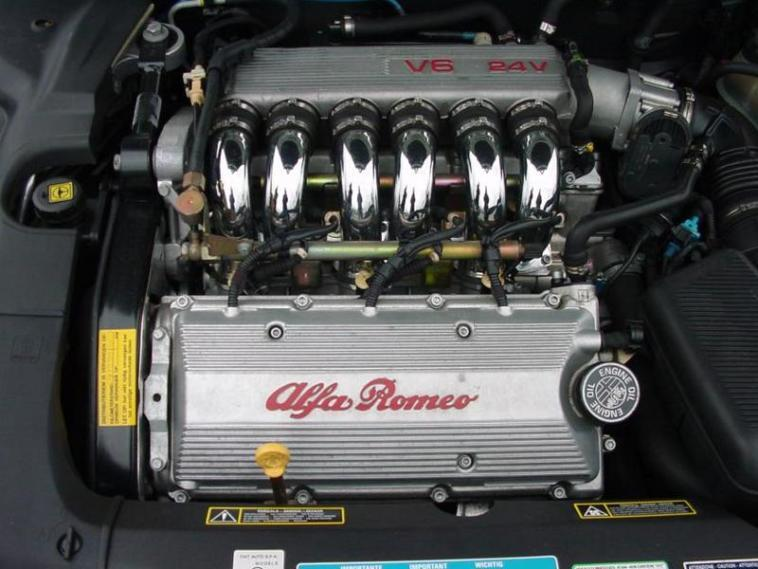 Alfa Romeo motori termoli