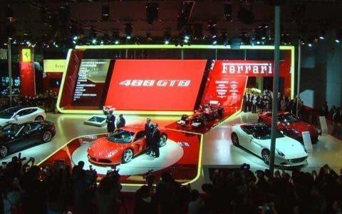 Ferrari 488 GTB ufficiale a Shanghai-2