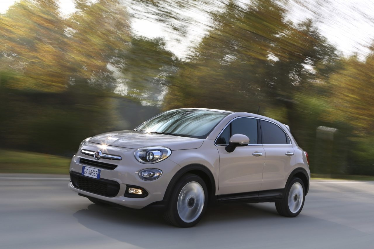 fiat 500x debutta il nuovo motore 1 4 turbo multiair ii da 140 cv. Black Bedroom Furniture Sets. Home Design Ideas