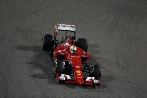 Vettel non ha brillato sotto i riflettori del GP del Baharain.