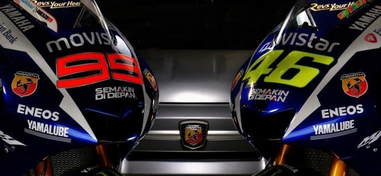 Abarth e Yamaha MOTOGP 2015