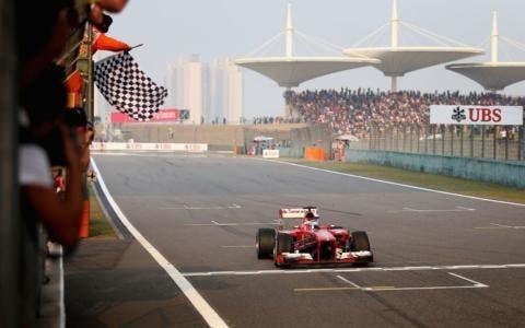 Alonso vince il GP di Cina, era il 2013.