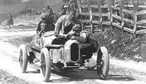 Ascari taglia coi il traguardo della Targa Florio 1923