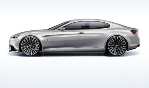 un concept della nuova Giulia, sara fregiata dal QV?