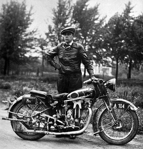 Karl Abarth e la moto. L'origine della passione per le corse.