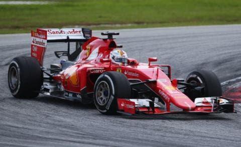 Vettel ancora a podio in Cina