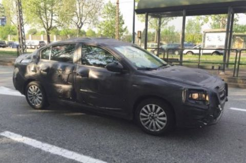 Fiat Linea foto spia