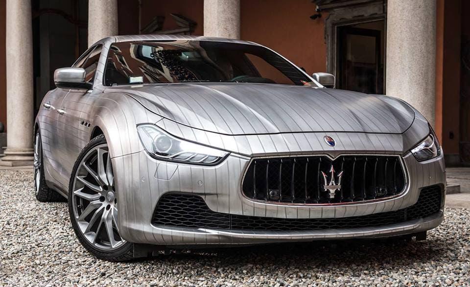 Maserati ghibli il tuning gessato di garage italia custom for Prezzi del garage della carrozza