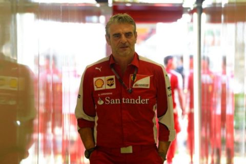 Il Team Principal Maurizio Arrivabene.