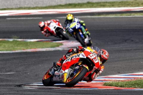 Marquez non al top ieri a Jerez.