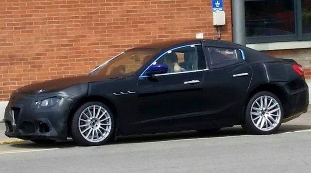 Alfa Romeo Giulia, foto del frontale