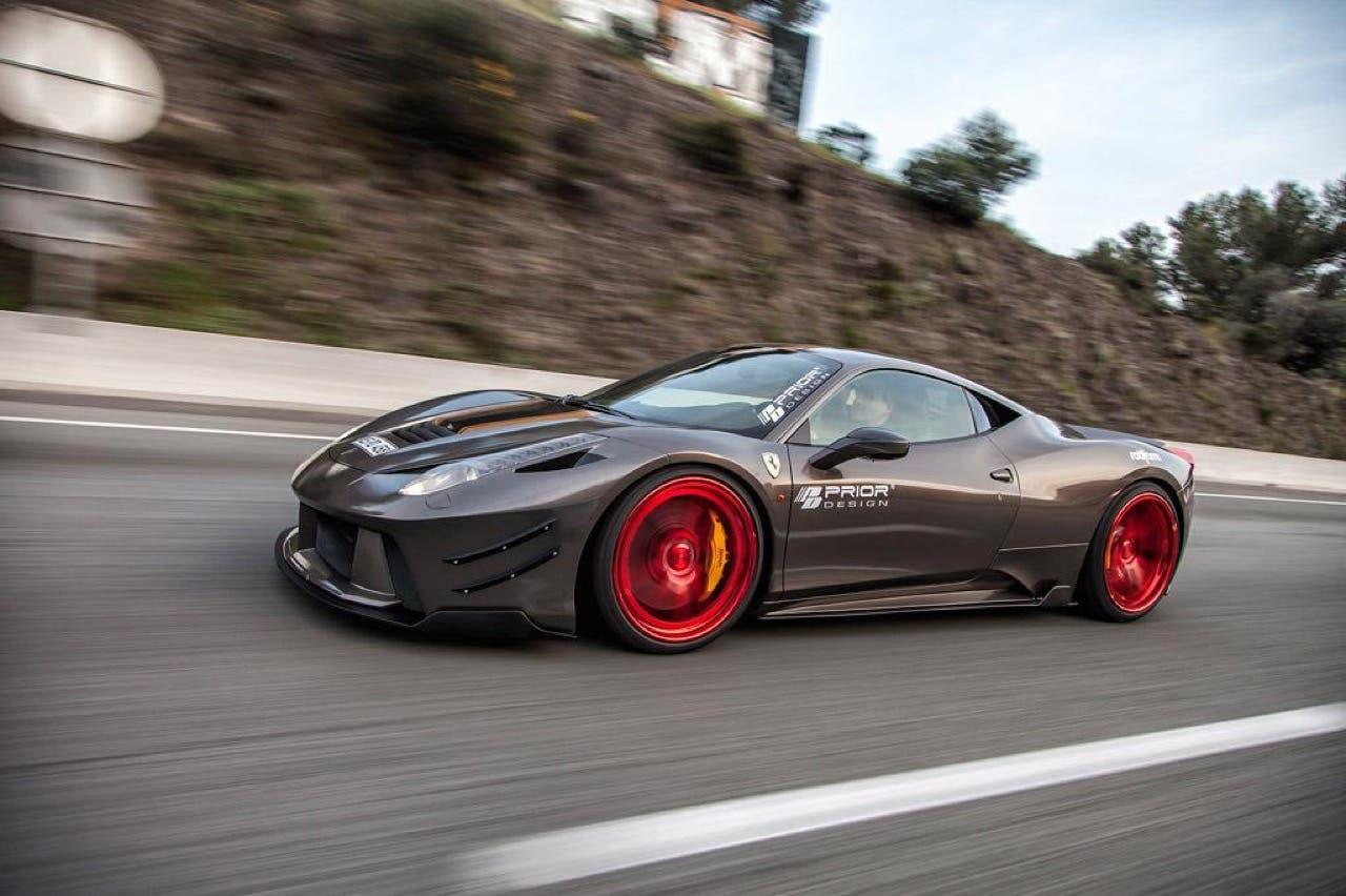 Ferrari 458 italia il tuning di prior design for Design italia