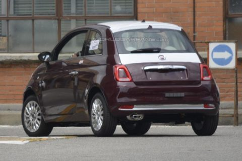 Fiat 500 restyling 2