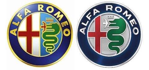 Alfa Romeo Logo confronto nuovo vecchio
