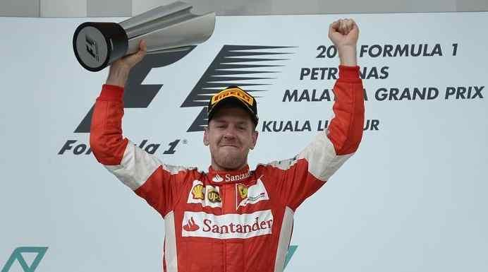Vettel aVettel pronto a vincere con la Ferrari. Lettera in italiano