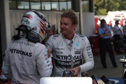 Rosberg e Hamilton, la contesa è tra loro due.