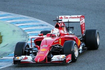 Sebastian Vettel (GER) Ferrari SF15-T. 01.02.2015.