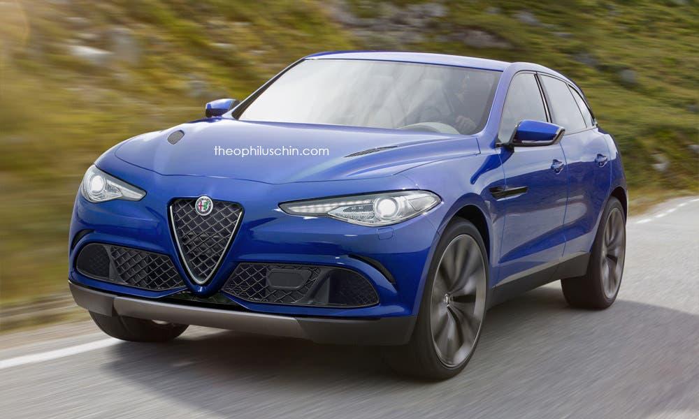 Alfa Romeo SUV, nuovi rendering ispirati alla Giulia
