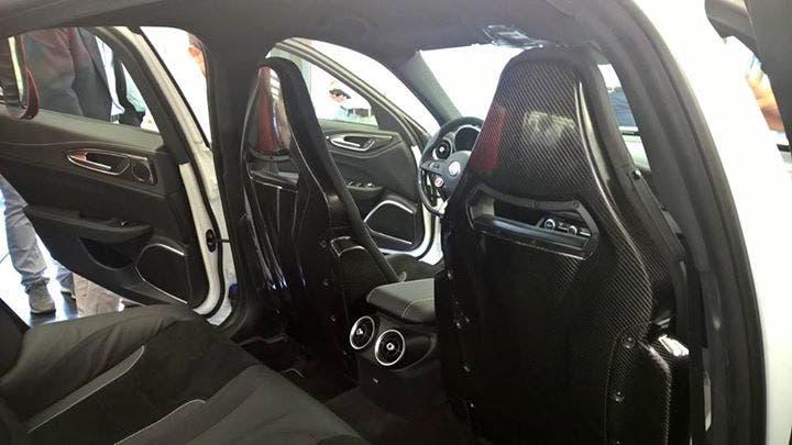 Alfa Romeo Giulia interni 7