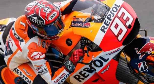 MotoGP Germania: Marc Marquez conquista la pole, Valentino Rossi soltanto sesto.