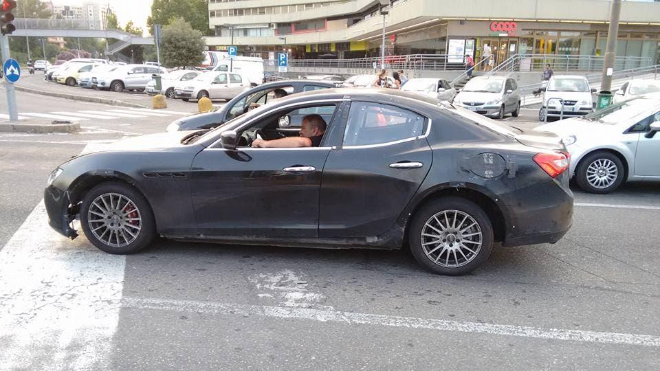 Alfa Romeo Prime Possibili Foto Spia Della Futura