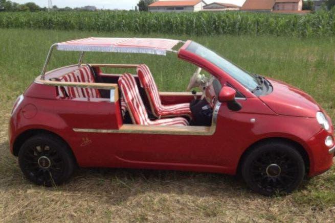 Fiat 500 Jollycar, ecco la versione da spiaggia da 80mila euro