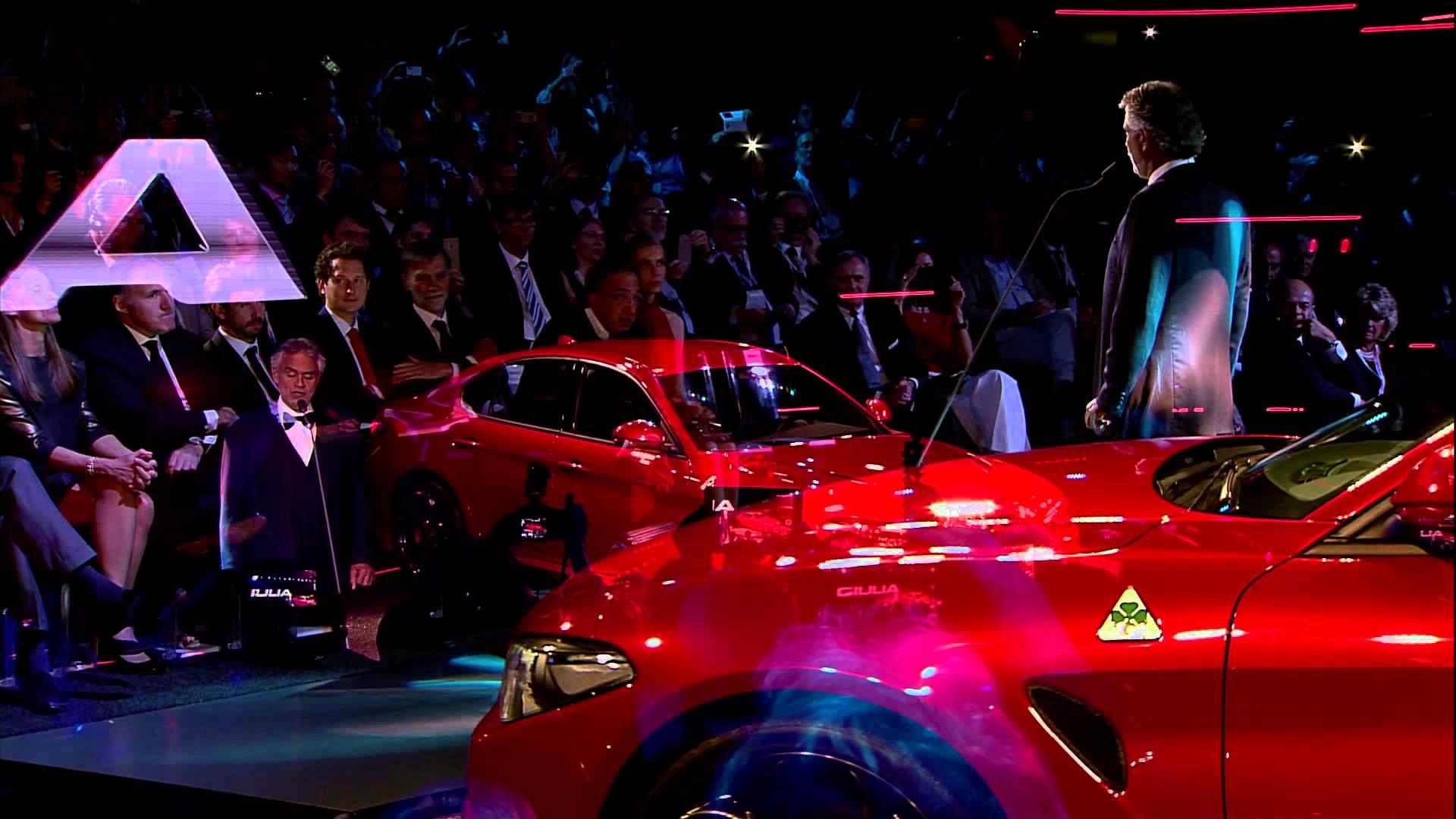 Video Presentazione Alfa Romeo Giulia 2015