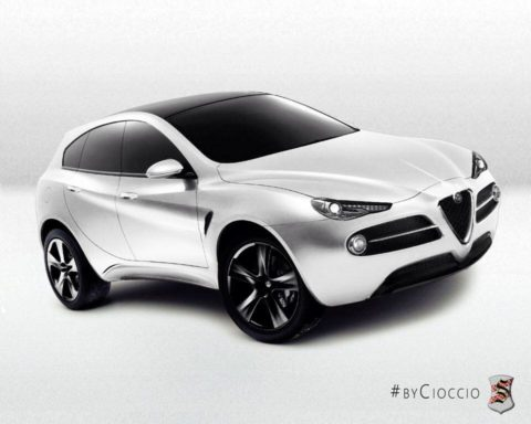Alfa Romeo Project 952 - Centro Stile Serra