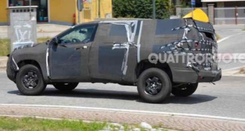 Fiat Toro, nuovo pick-up debutta su strada