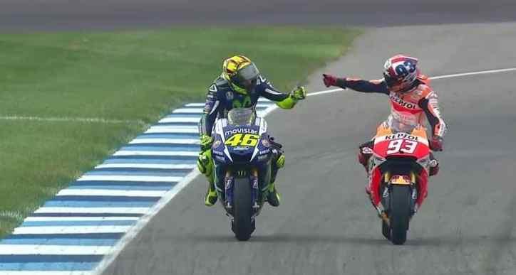 MotoGP Indy: Rossi ottimo podio, Marquez trionfa davanti a Lorenzo
