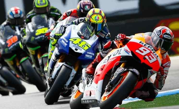 MotoGp Silverstone-Lorenzo vola-Valentino Rossi