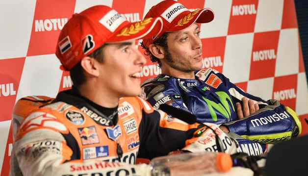 MotoGp Silverstone: Marquez pole record. Lorenzo secondo, Rossi quarto