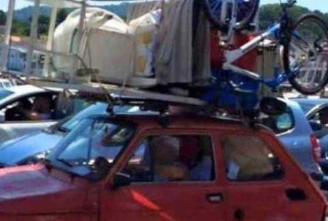 Fiat 126 pronta al controesodo, foto diventa virale