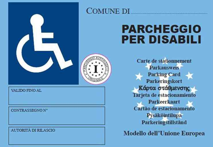 pass disabili europeo