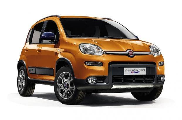 Fiat panda 4x4 k way debutta in italia prezzi da euro for Interno k way