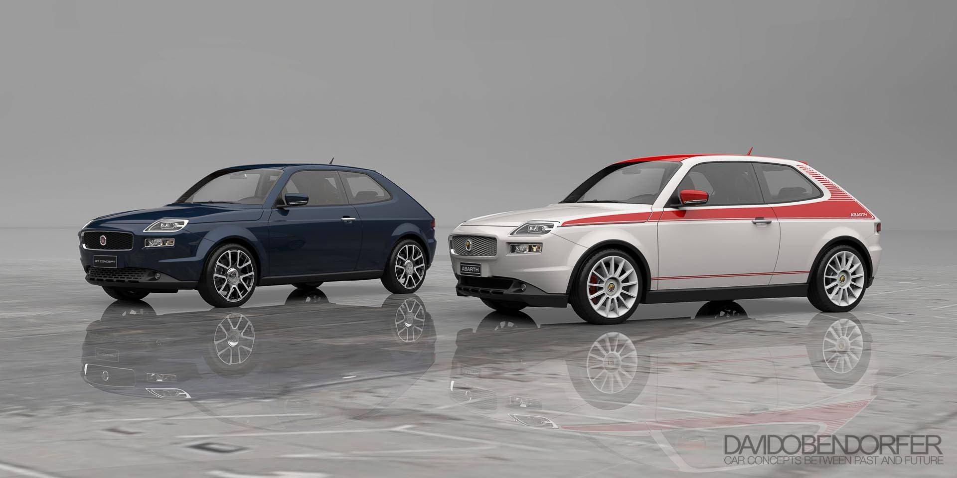 Fiat 127 Concept Nuovo Rendering Di Una Possibile