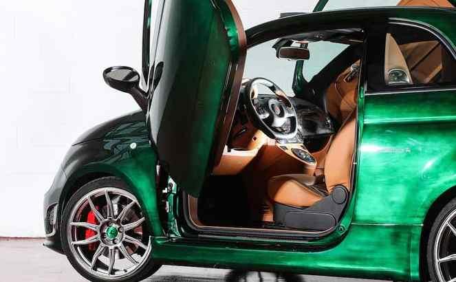 Fiat 500C Romeo S supercar da 240 Km/h