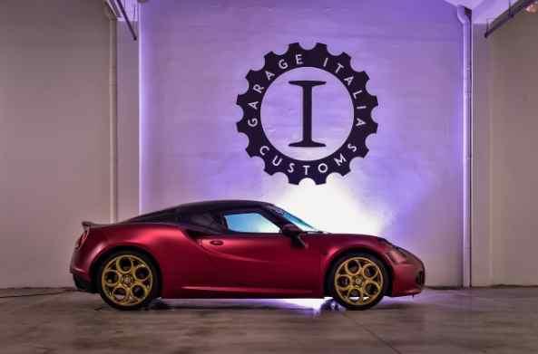 Alfa Romeo 4C La Furiosa Lapo Elkann