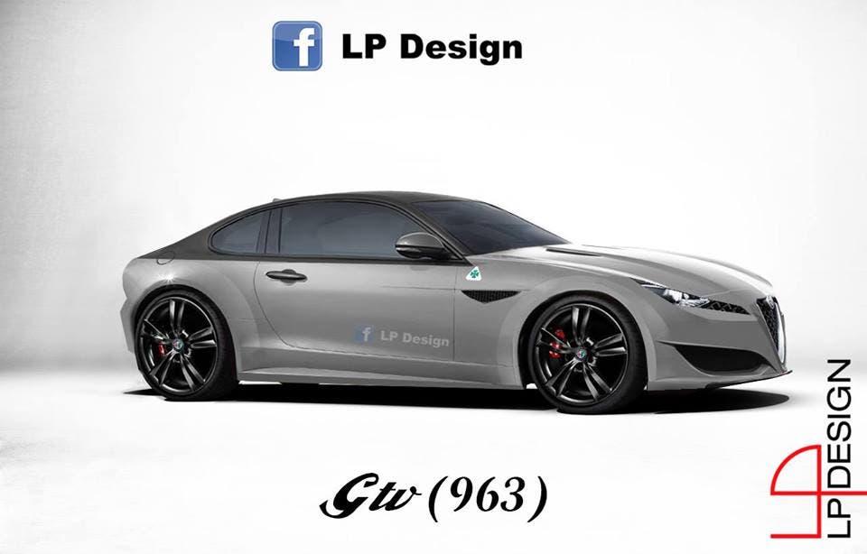 Alfa Romeo Gtv Rendering Della Nuova Generazione Della