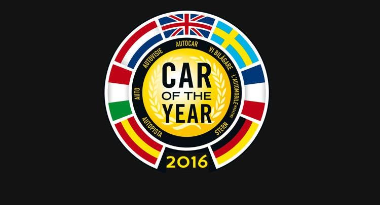 finaliste auto dell'anno 2016