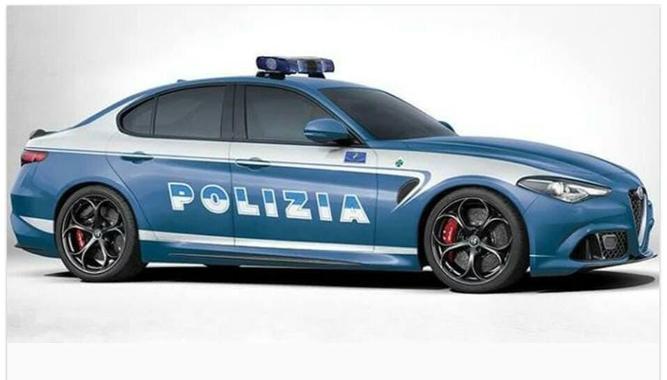 Alfa romeo giulia un futuro in polizia rendering - Foto della polizia citazioni ...