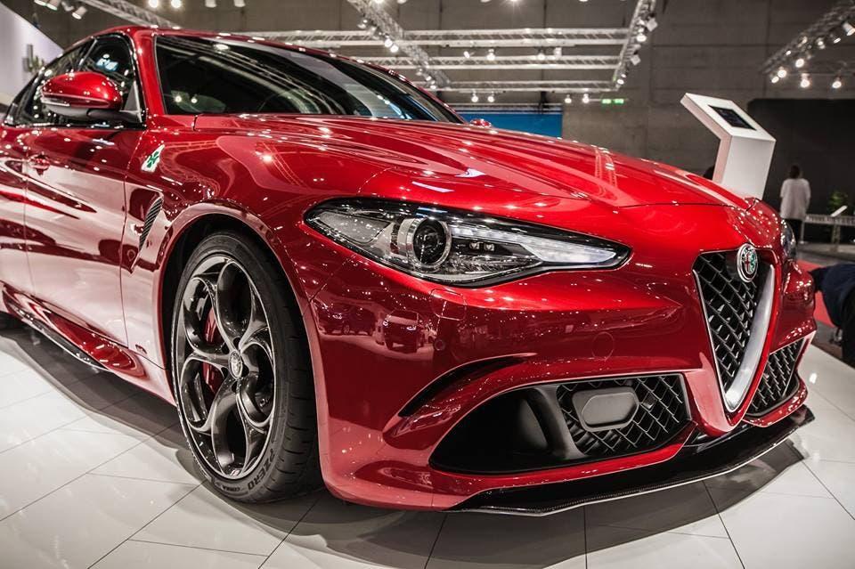 Alfa Romeo Giulia Quadrifoglio vince premio al Miami International Auto Show