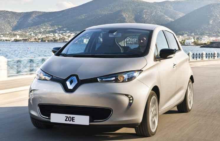 Auto elettriche vendite record in Europa. Renault domina