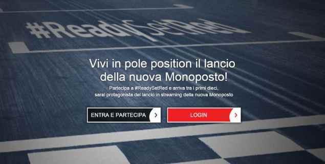Ferrari 2016 presentazione ufficiale concorso #ReadySetRed