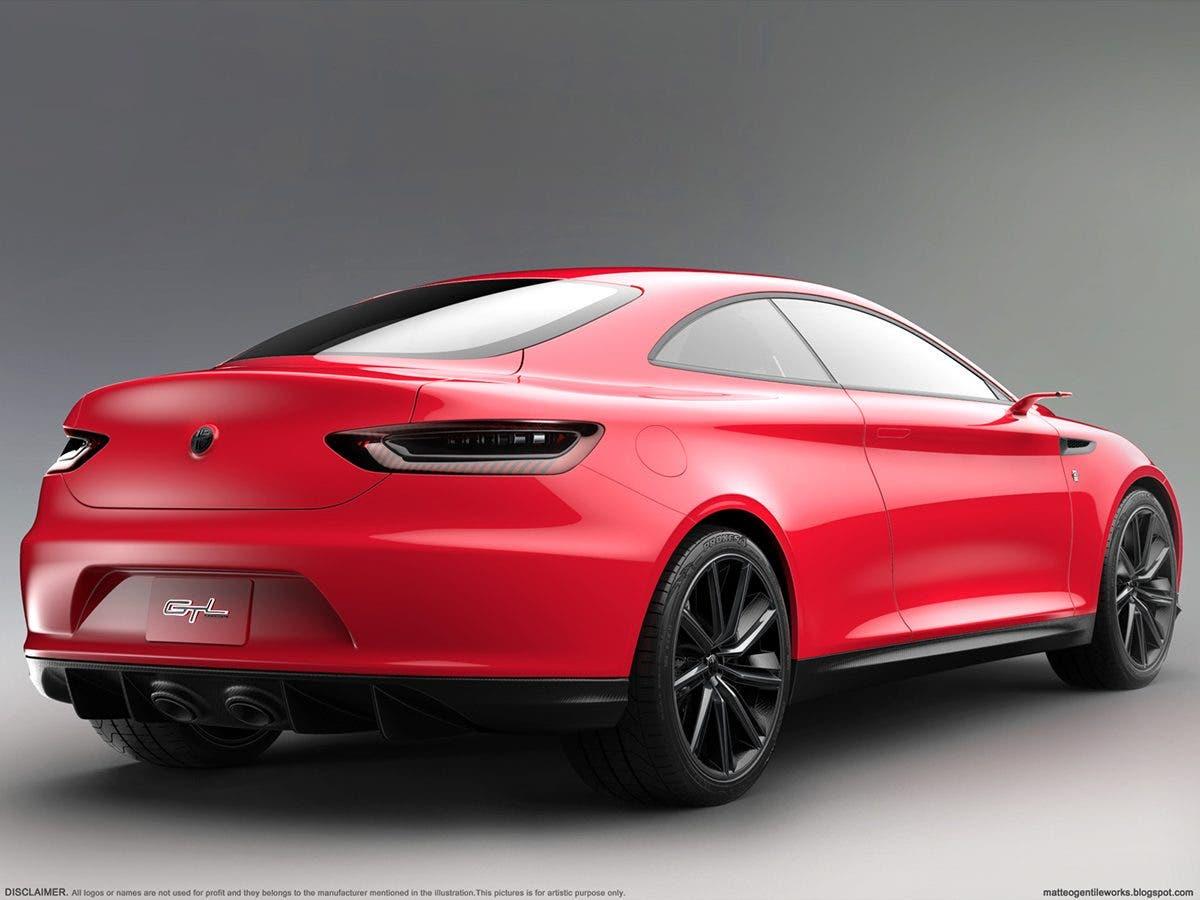 Sarà cosi l'Alfa Romeo GT del 2017