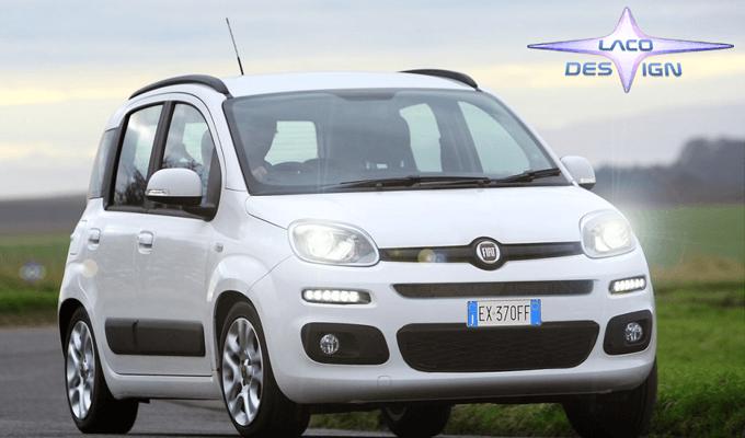 Nuova Fiat Panda 2016-2017 ipotesi restyling
