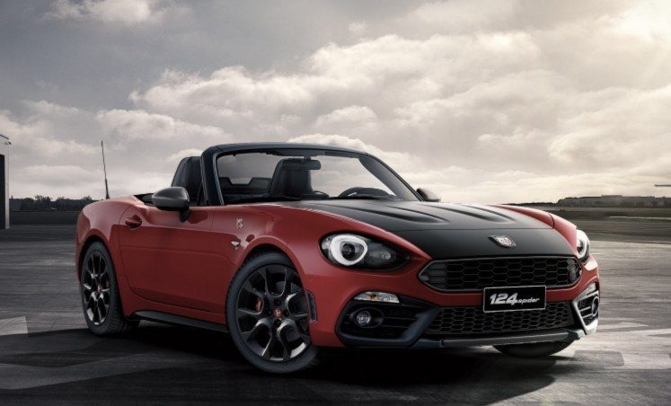abarth 124 spider cinque colorazioni e tante possibilit. Black Bedroom Furniture Sets. Home Design Ideas
